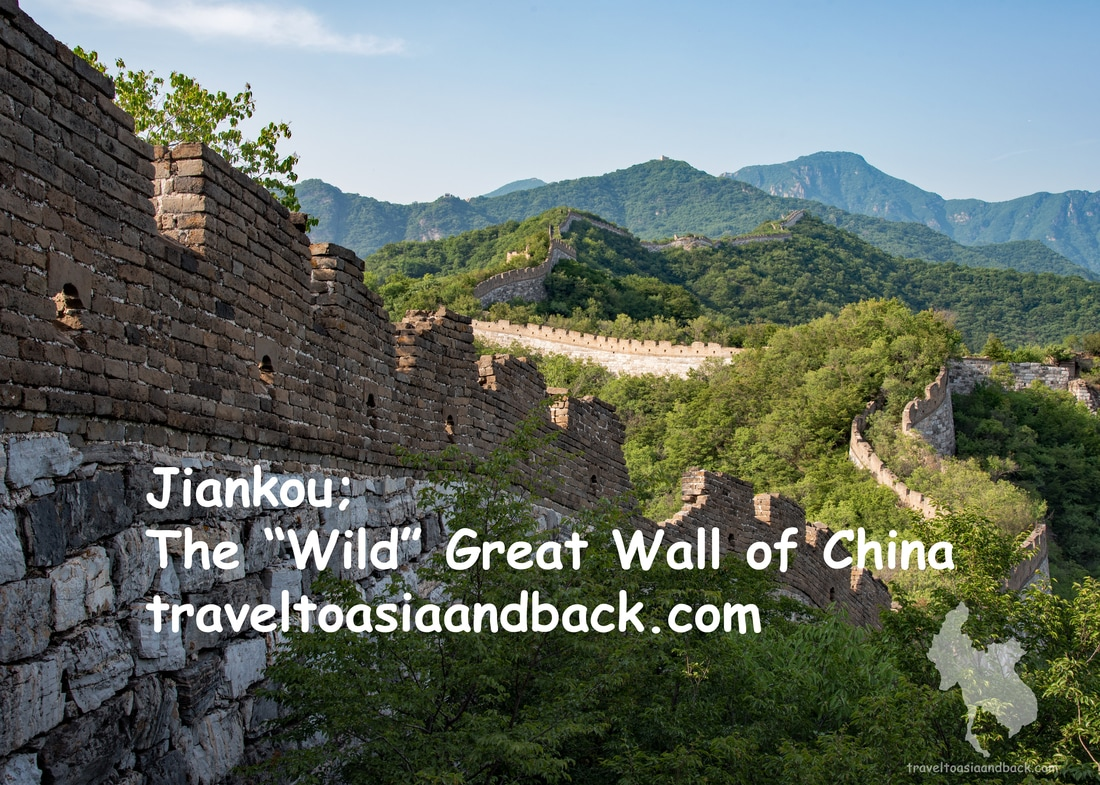traveltoasiaandback.com - The Jiankou section of the Great Wall snakes its way through northern China