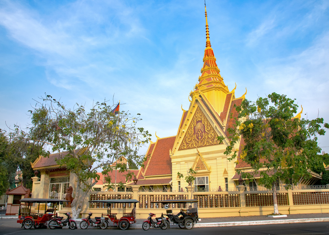 Traditional architecture, Phnom Penh Cambodia