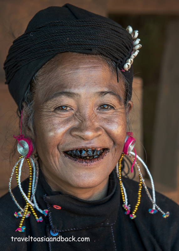 traveltoasiaandback.com - A woman from the Eng (An) ethnic group, Pang Lea Village, Keng Tung, Shan State, Myanmar